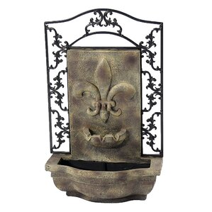 Marie Outdoor Wall Fountain