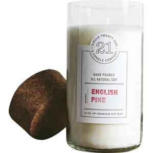 English Pine Scented Candle