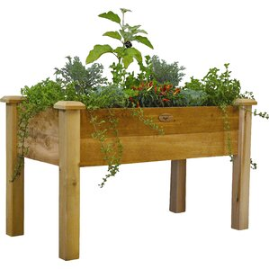 Russo Cedar Elevated Raised Garden