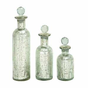3-Piece Gemma Bottle Decor Set
