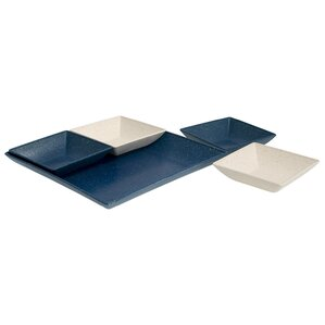 Miranda 5-Piece Serving and Snack Tray Set