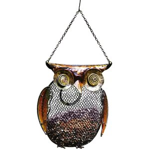 Chubby Owl Bird Feeder