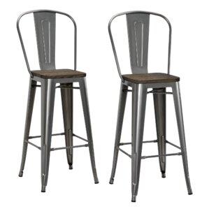"Deerfield 29.5"" Bar Stool (Set of 2)"