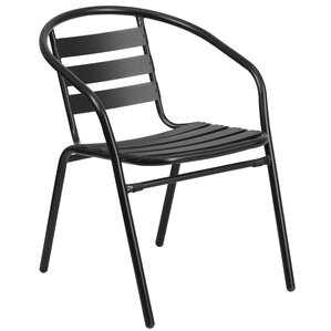 Athol Stacking Dining Arm Chair
