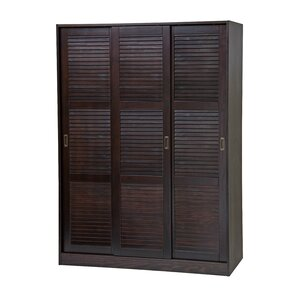 Three-Sliding Door Armoire