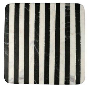 Geller Striped Marble Trivet