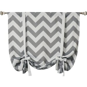 Chevron Tie-Up Shade
