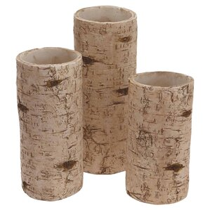 Birch Candleholder Set