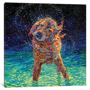 Moonlight Swim Canvas Print