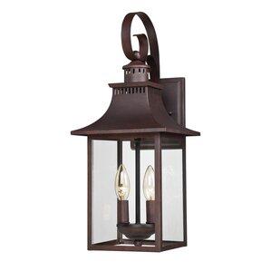 Chancellor 2-Light Outdoor Wall Lantern