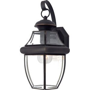 Sylvester 1-Light Outdoor Wall Lantern