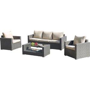 4-Piece Degrado Patio Seating Group