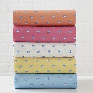 4-Piece Skipjack 200 Thread Count Cotton Sheet Set