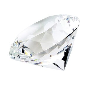 Diamond Shaped Paperweight