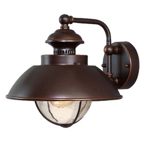 Mahaffey 1-Light Outdoor Barn Light