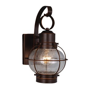 Burnham 1-Light Outdoor Wall Lantern