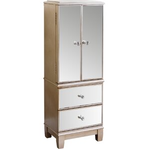 Sophie Mirrored Jewelry Armoire