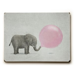Jumbo Bubble Gum Wall Plaque