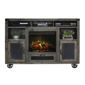 Wilson Media Console with Electric Fireplace