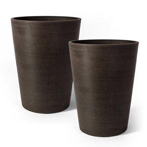 Serenity Composite Pot Planter (Set of 2)