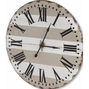 Belton Round Oversized Wall Clock