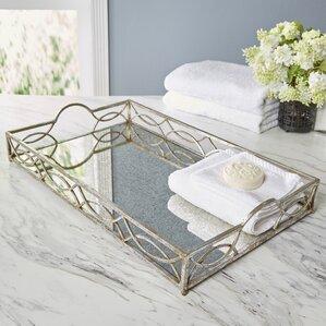 Coraline Mirrored Tray
