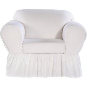 Shabby Chair Skirted Slipcover  by Classic Slipcovers