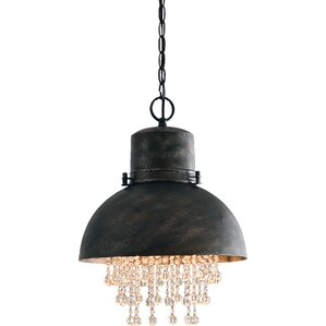 Brownell 1-Light Inverted Pendant