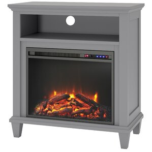 Joseph Media Console with Electric Fireplace
