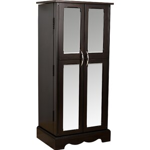 Chelsea Mirrored Jewelry Armoire