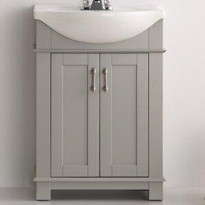 "Lela 24"" Single Bathroom Vanity Set"