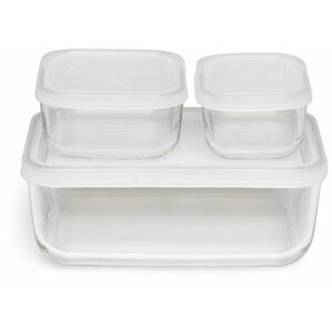 Nathaniel 6-Piece Compact Food Storage Set