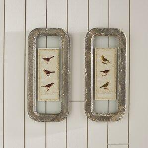 Little Bird Framed Print (Set of 2)