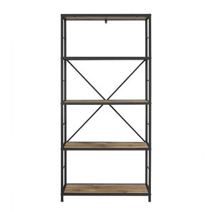 "Godfrey Metal and Wood 63"" Etagere"