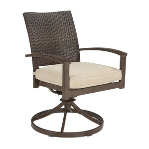 Sutherland Swivel Dining Chair (Set of 2)