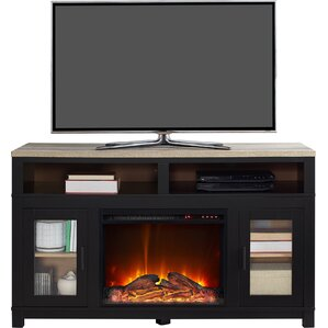 Trumansburg Media Console with Electric Fireplace