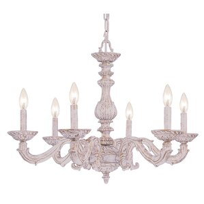 Mia 6-Light Candle Chandelier