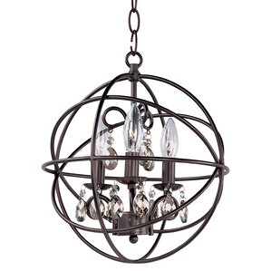 Galanis 3-Light Chandelier