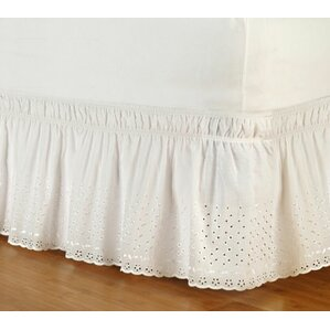Jordan Eyelet Wrap Around Bed Skirt