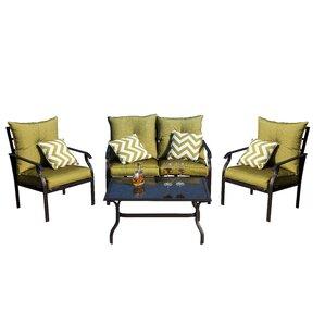 Gustavo 4-Piece Sofa Seating Group