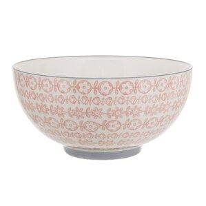 Nathalie Round Ceramic Serving Bowl