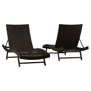 Klause Patio Lounger (Set of 2)