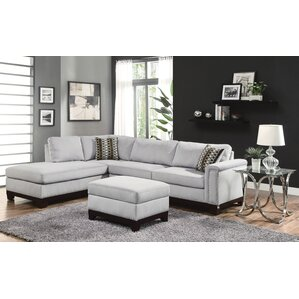 """Mason 109"""" Reversible Chaise Sectional"""