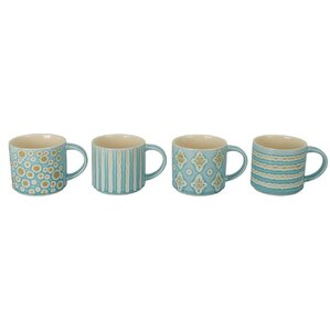Gale Porcelain Mug (Set of 4)