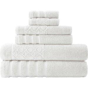 Emilio 6-Piece Towel Set