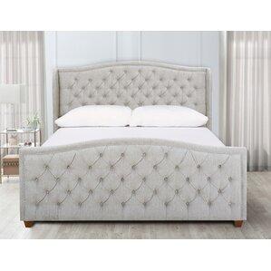 Whitman King Upholstered Panel Bed