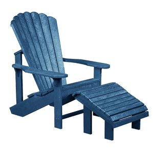 Jamestown Adirondack Chair & Footstool