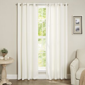 Leslie Blackout Thermal Curtain Panels (Set of 2)
