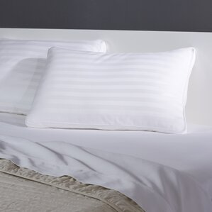 Hypoallergenic Stripe Down Alternative Pillow (Set of 4)