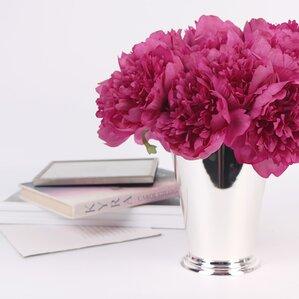 Luxury Silk 5 Peony Bouquet